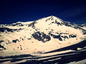 Hey, Mt. Democrat.  You beautiful mountain.