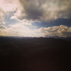 from Bear Peak