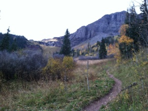 trail to ice lakes, near Silverton
