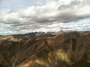the red mountains of this area of San Juans, from Red Cloud