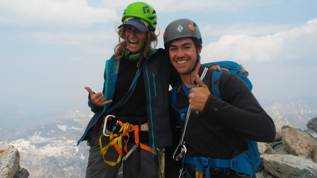 aj and I on summit of the grand